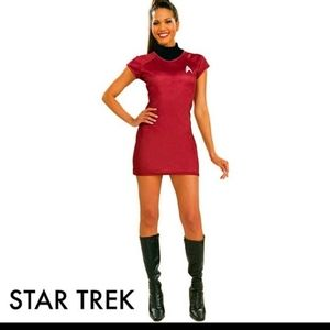 Star trek uhura costume  New  Size M (8-10)